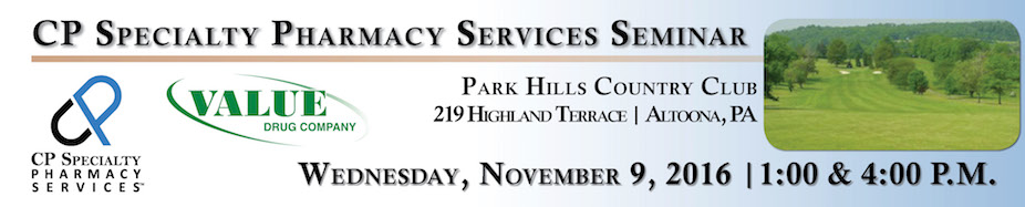 CP Specialty Pharmacy Services Seminar