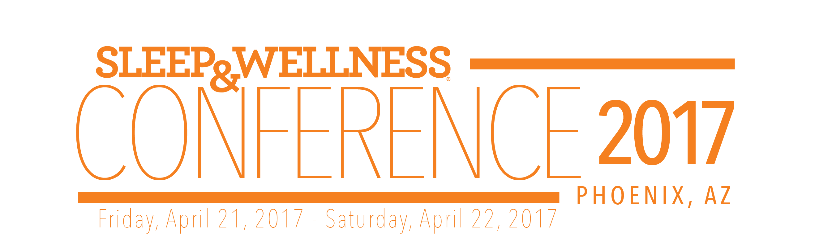 Sleep & Wellness 2017:  The Premier Conference for Sleep Health Professionals