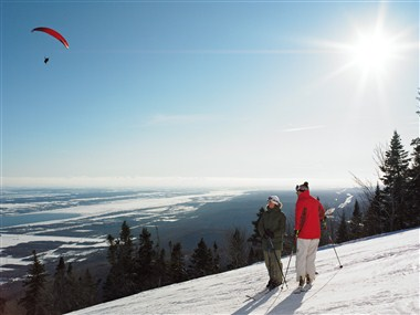 Skiing at Mont-Sainte-Anne