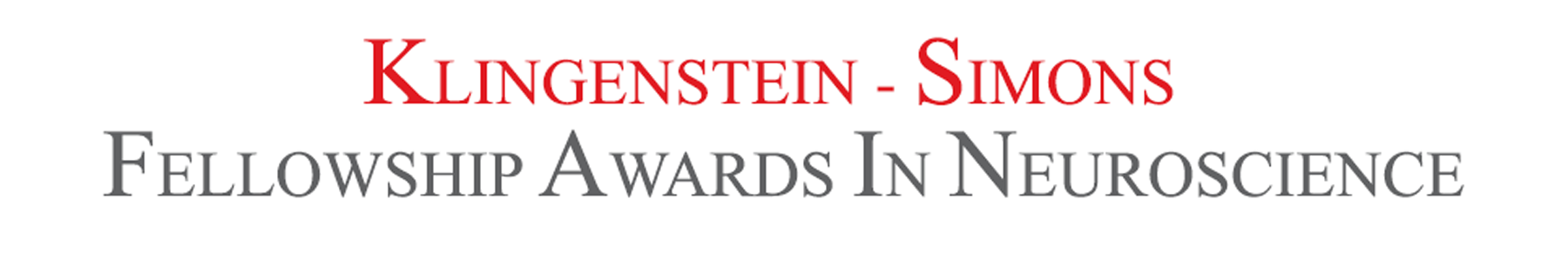 Klingenstein-Simons Fellowship Awards in Neuroscience
