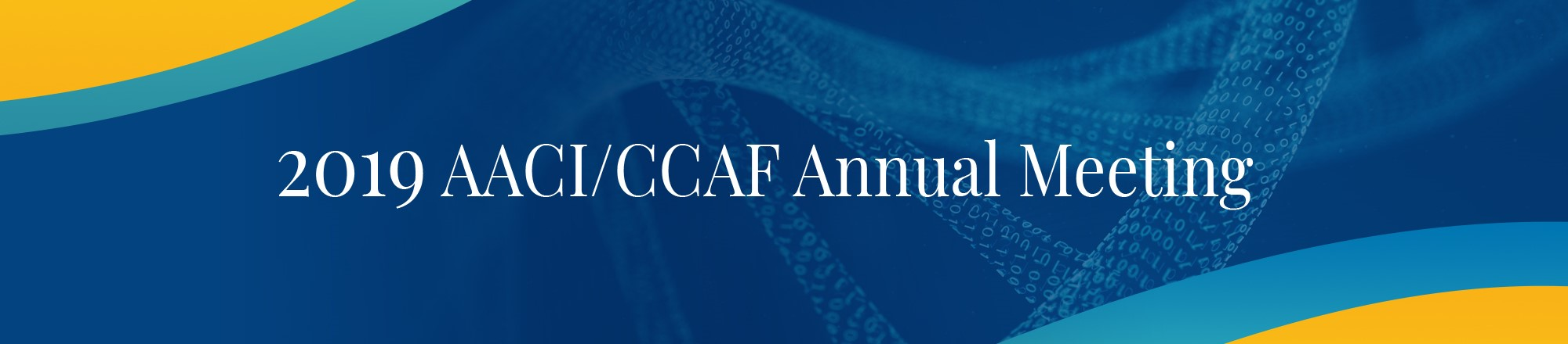 2019 AACI/CCAF Annual Meeting