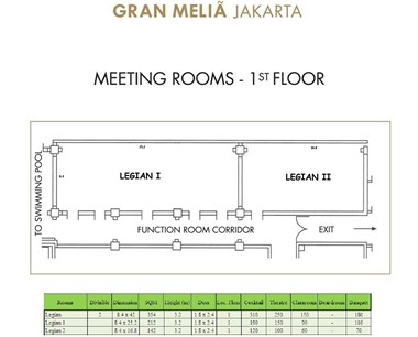Floor Plan Legian I & II