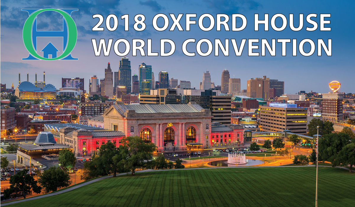 """20th Annual World Convention:  """"Oxford House - Recovery • Fellowship • Fun"""""""