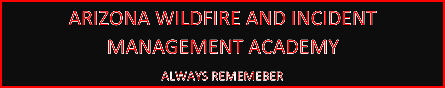 2019 Arizona Wildfire and Incident Management Academy