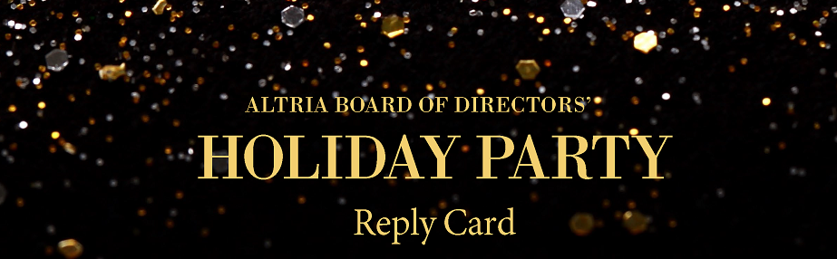 2017 Altria Board Of Directors' Holiday Party