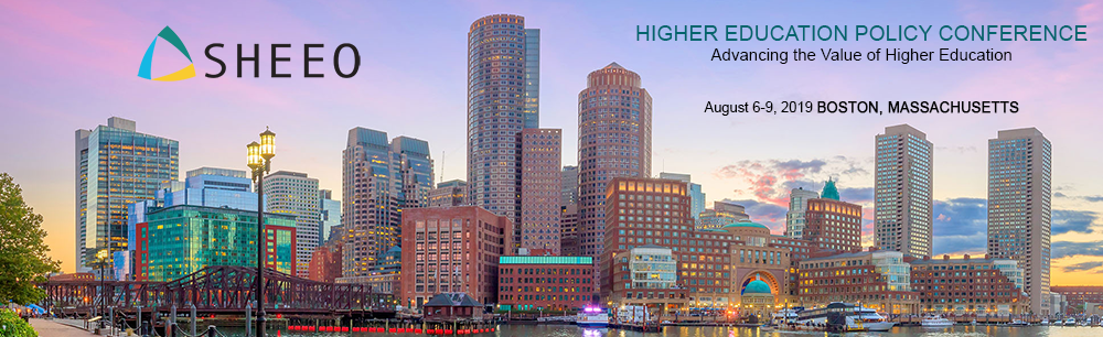 2019 SHEEO Higher Education Policy Conference - Advancing the Value of Higher Education
