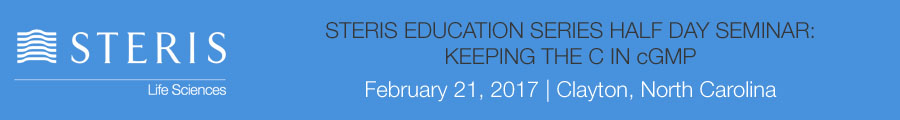 STERIS Education Series Half Day Seminar:  Keeping the c in cGMP