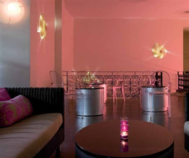 Pink Snail Bar Interior