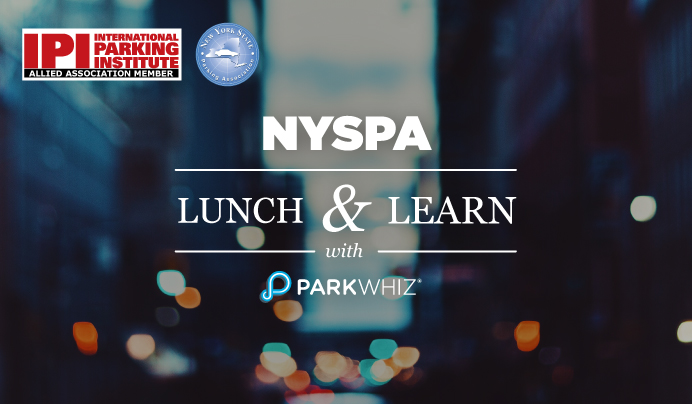 NYSPA Lunch &  Learn with ParkWhiz