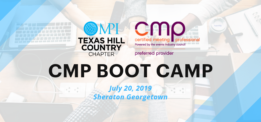 CMP Boot Camp - July 20, 2019