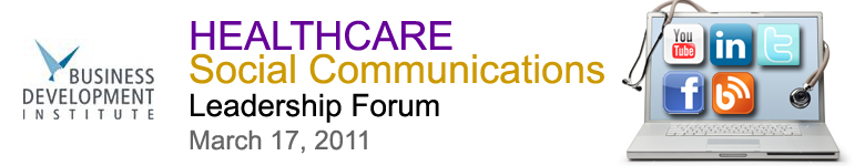 Healthcare Social Communications Leadership Forum