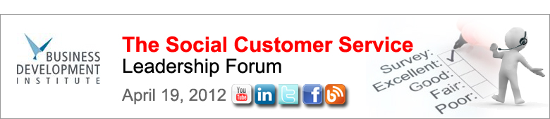 The Social Customer Service Leadership Forum