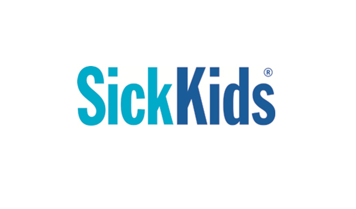 SickKids banner holder