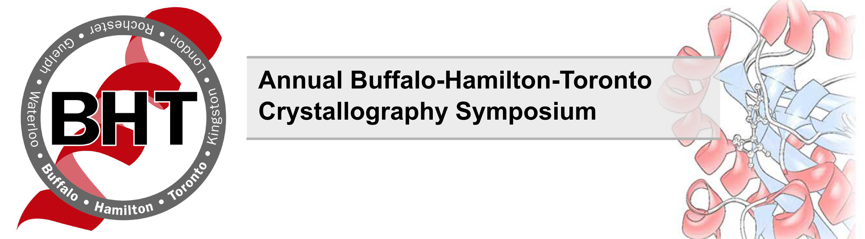 26th Annual Buffalo-Hamilton-Toronto (BHT) Crystallography Symposium