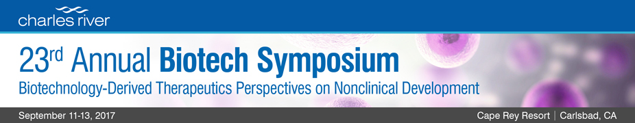 Annual Biotech Symposium| Biotechnology-Derived Therapeutics Perspectives on Nonclinical Development