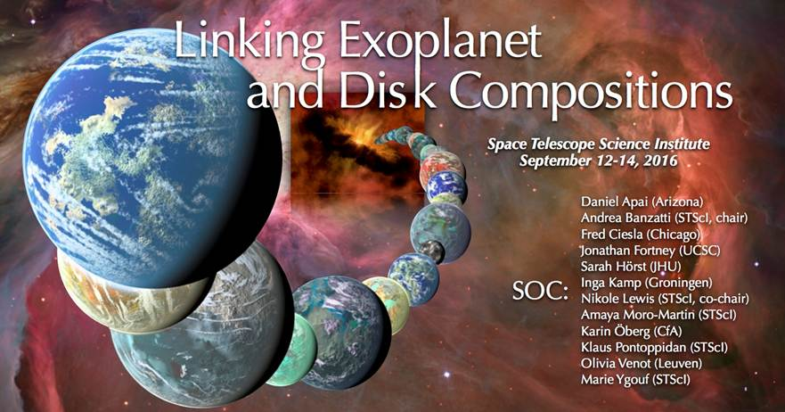 Linking Exoplanet and Disk Compositions Workshop