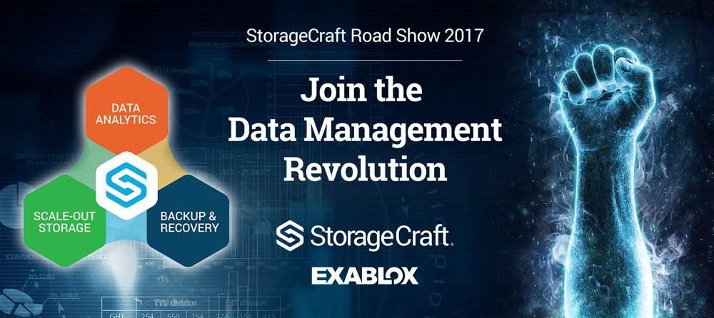 StorageCraft Roadshow 2017: Burlington