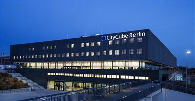 CityCube Berlin by night
