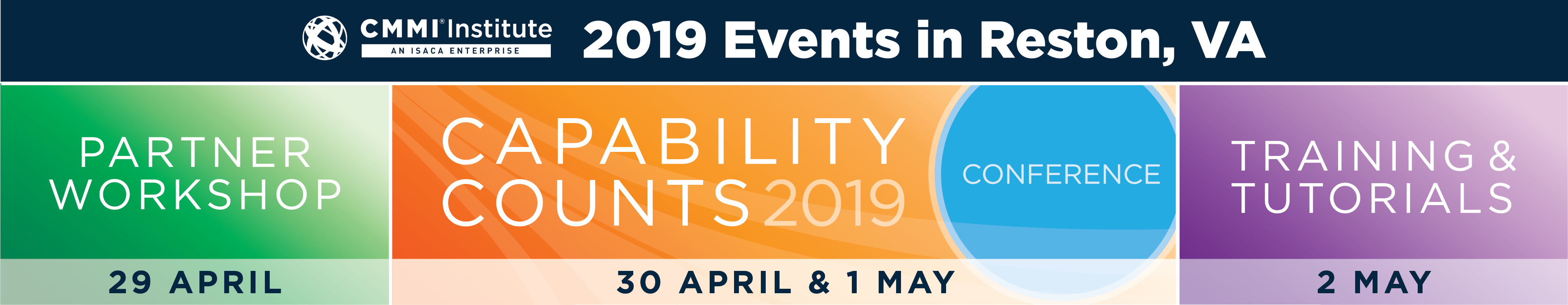 CMMI Institute May 2019 Events