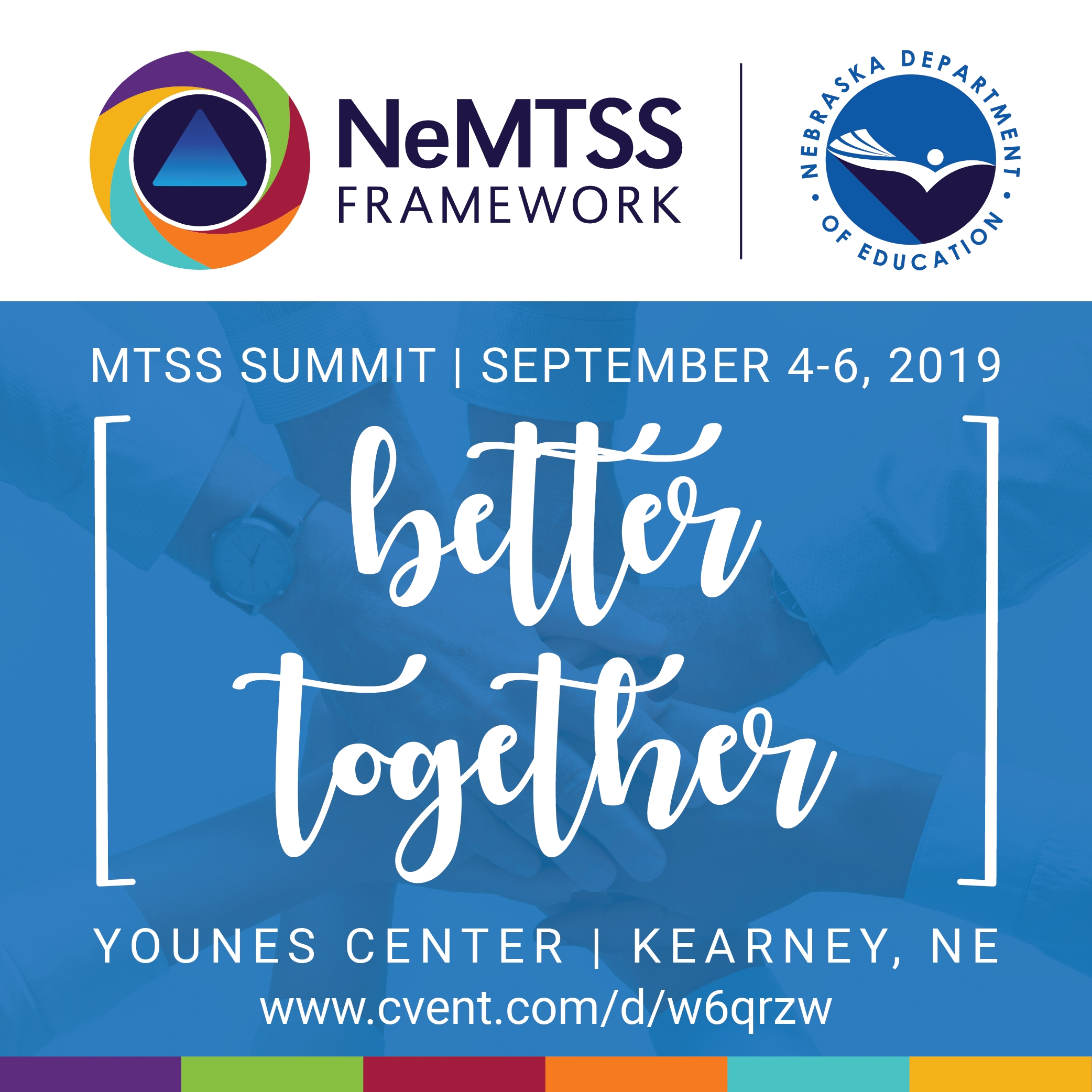 2019 Nebraska MTSS Summit | September 4-6, 2019
