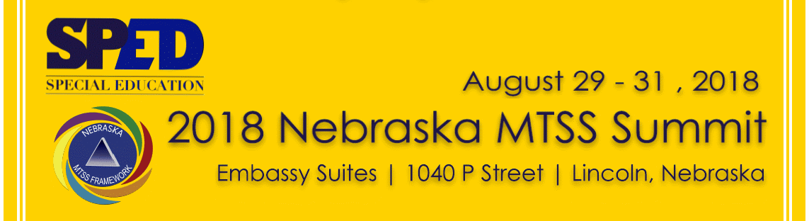 2018 Nebraska MTSS Summit