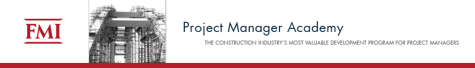Project Manager Academy / November 14-17, 2016  / Southern California
