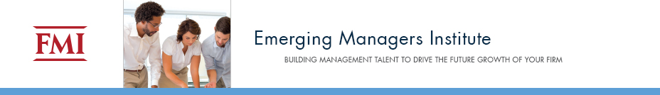 Emerging Managers Institute | November 30 - December 2, 2016 |  Raleigh, NC