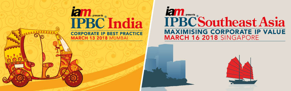 IPBC India and IPBC Southeast Asia 2018