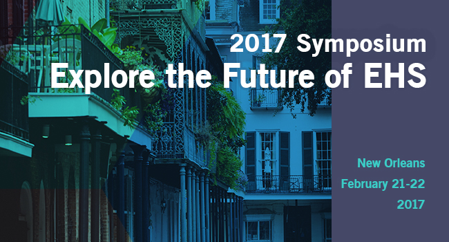 2017 Campbell Institute Symposium: The Future of EHS