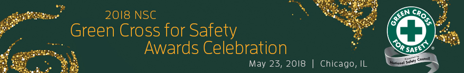 Green Cross for Safety Awards Celebration