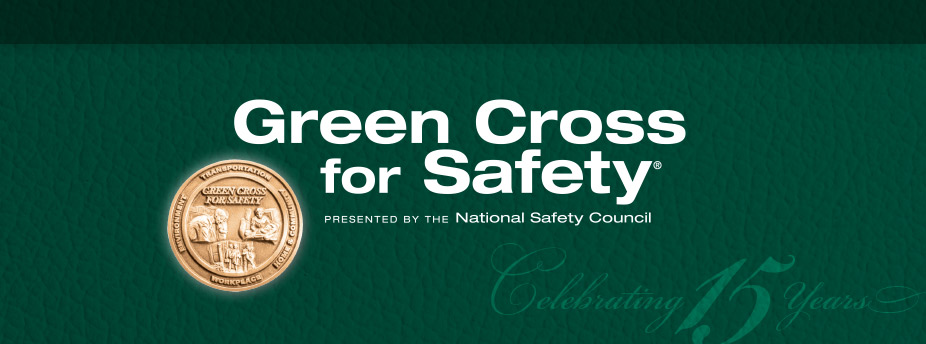 Green Cross for Safety Dinner