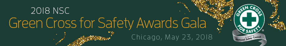 Green Cross for Safety Awards Gala