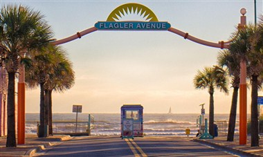 Iconic Flagler Avenue Sign