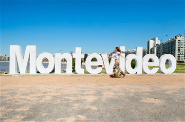 Montevideo Landmark Sign