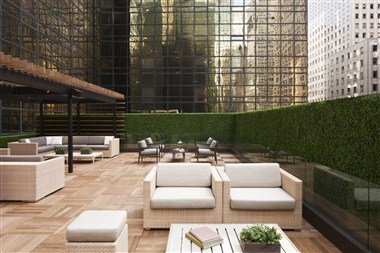 Grand Club Lounge Outdoor Terrace