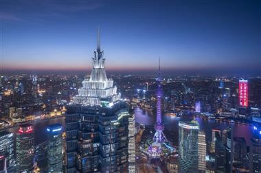 Grand Hyatt Shanghai - Exterior - Night Top