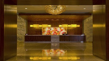 Lobby- Front Desk