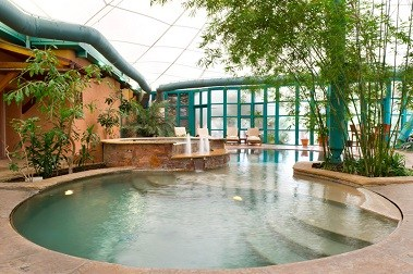 Aquatic Center Hot Tub