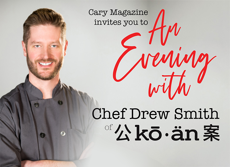 An Evening with Chef Drew Smith of Ko•an
