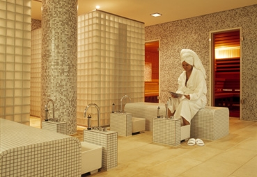 Spa sauna area