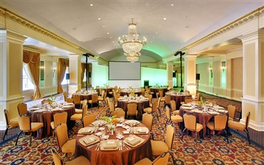 Dinner in The Grand Ballroom
