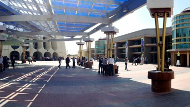 The Convention Center Plaza