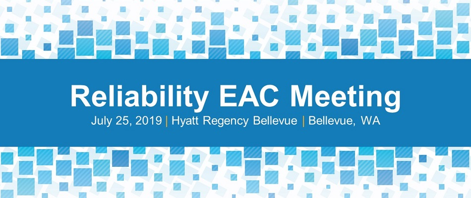 Reliability EAC Meeting