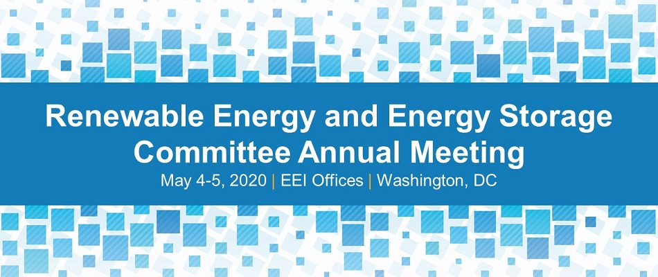 Renewable Energy and Energy Storage Committee Annual Meeting