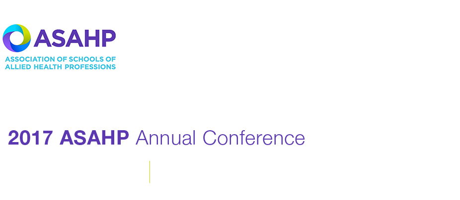 2017 ASAHP Annual Conference - Support
