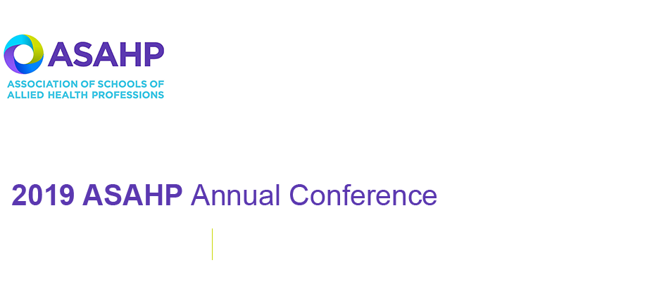 2019 ASAHP Annual Conference
