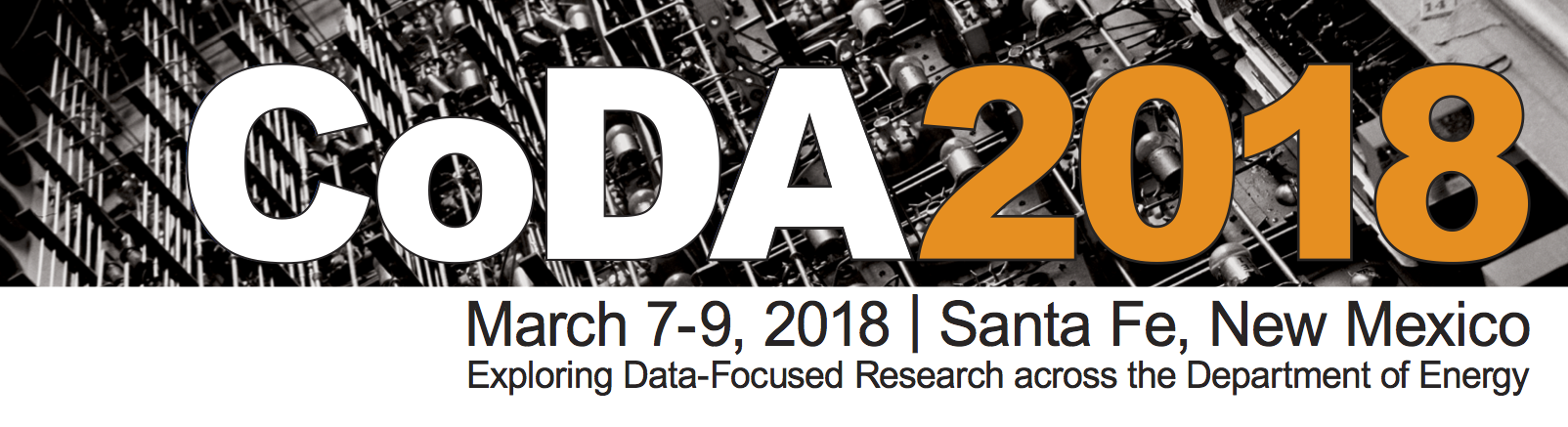 CoDA 2018 - Conference on Data Analysis 2018