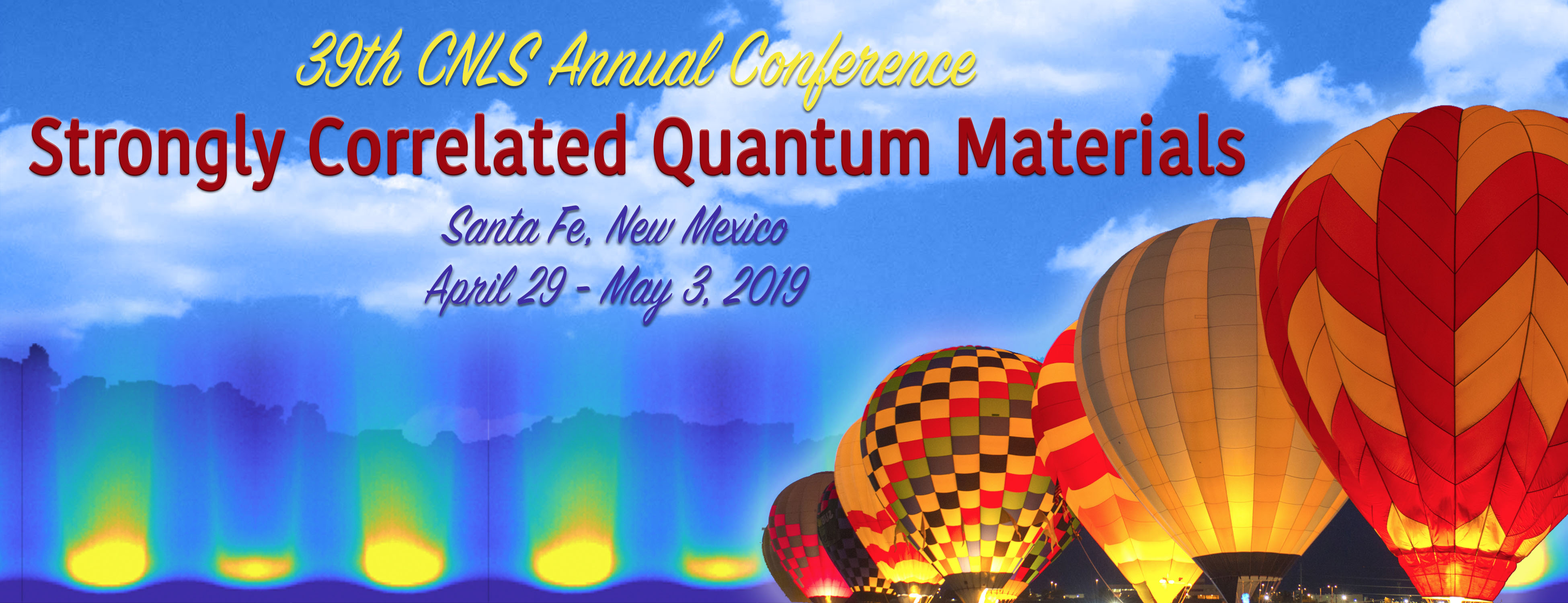 CNLS 39th Annual Conference - Strongly Correlated Quantum Materials