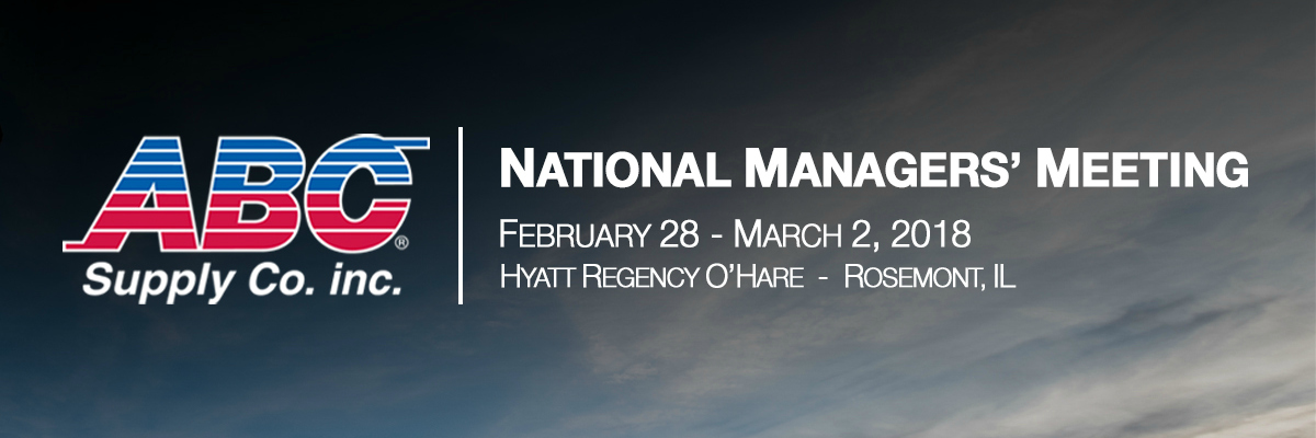 2018 ABC Supply National Managers' Meeting