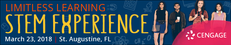 CANCELED - Limitless Learning: A Cengage STEM Experience Event  (St. Augustine, FL)